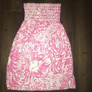 Lilly Pulitzer Terry Cover Up dress Prink